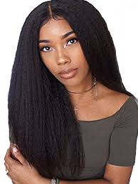 women s human hair wig chic middle parted curly natural wig accessory share