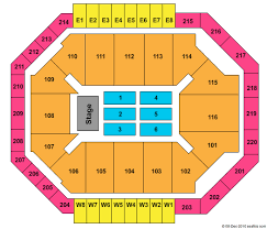 Constant Convocation Center Seating Chart