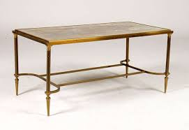 mid century bronze glass coffee table french provincial traditional stupendous industral crafted large
