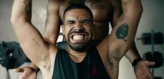 drake in the gym