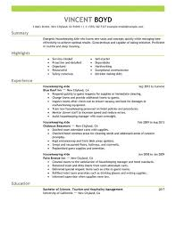 Housekeeping Resume Examples Beauteous Housekeeping Resume Samples Shalomhouseus