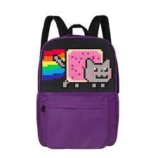 Фиолетовый пиксельный рюкзак для школы Classic <b>school pixel</b> ...