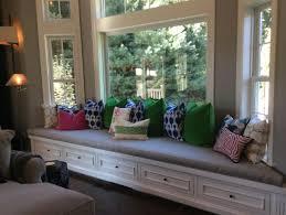 bay window seat. Simple Seat Gracefulinteriors To Bay Window Seat 8