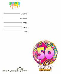 free printable child birthday invites
