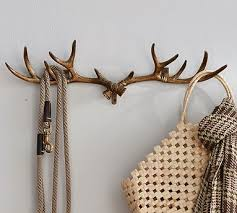 Antler Coat Rack Clearance Antler Row Of Hooks Pottery Barn 35