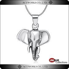 china 3d wild elephant head tibetan 925 sterling silver pendant china tibetan silver elephant pendant wild elephant pendant