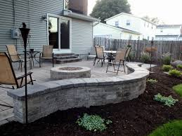 square paver patio with fire pit. Square Patio Stone Awesome 30 Amazing Small Fire Pit Ideas Benestuff Paver With