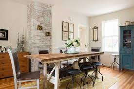 potting table turned into dining table in the fabulous dining space design lisa teague