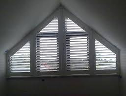 Triangle Windows  Windows  Pinterest  Window Coverings And WindowBlinds Triangular Windows