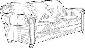 sofa chair clip art. Unique Chair Couch Furniture Clip Art Throughout Sofa Chair Clip Art O