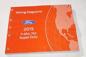ford f f super duty wiring diagram manual bull cad  2015 ford f 650 750 super duty truck wiring diagrams service manual 37267