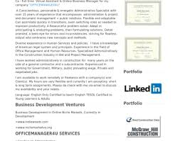73 Perfect Virtual Assistant Resume Sample For Success Resume Template