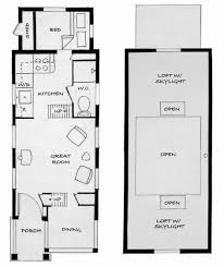lighting surprising tiny houses floor plans 24 12x20 pdf 452 sq in house with loft mobile