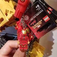 Lego Keyrings Ninjago Super Heroes Dragon Star Wars You Choose Movie LEGO  Minifiguren