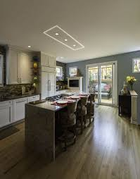 kitchen lighting recessed kitchen lighting ideas with wooden swivel counter height stools and mosaic ceramic tile backsplash lighting