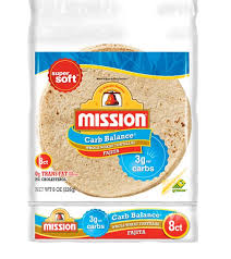 mission fajita carb balance whole wheat 8ct