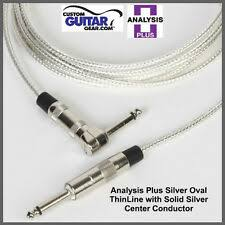 Профессиональный аудио серебряный <b>Analysis Plus</b> одной <b>кабели</b>