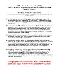 Download Catering Contract Style 19 Template For Free At