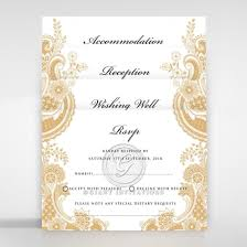 Weding Card Designs Prosperous Golden Pocket