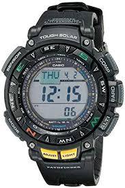Casio <b>Men's</b> Pathfinder Triple <b>Sensor</b> Multi-Function <b>Sport Watch</b>