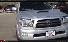 2009 Toyota Tacoma TRD full tour (start up, exhaust, interior ...