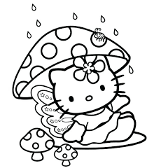 hello kitty color sheets. Simple Color Hello Kitty Baby Coloring Pages  Color Sheets Intended Hello Kitty Color Sheets A