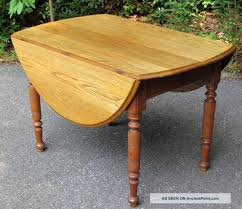 Vintage Oak Dining Table Antique Mahogany Drop Leaf Victorian 19th Century Dining Table At