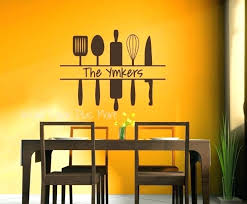 kitchen wall clings top photo of vinyl wall decals for kitchen personalized kitchen wall art custom
