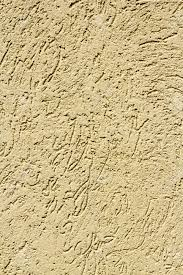 Sandcolored Stucco Finish Exterior Or Interior Walls Stock - Exterior stucco finishes
