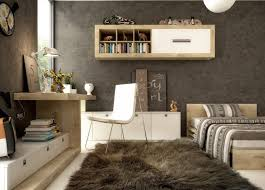 cozy home office desk furniture. charming brown cozy home office furniture workspace design with ball pendant lamp feats led lighting desk