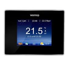 warmup 4ie smart wifi programmable underfloor heating thermostat