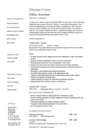 Examples Of Administrative Assistant Resumes Sample Resume For Office Administration Sample Resume For