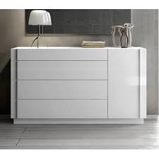 white laquer furniture.  White Ju0026M Furniture Amora Dresser In White Lacquer U0026 Chrome  From  BEYOND Stores Intended White Laquer Furniture D