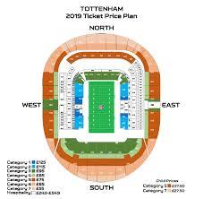 Spurs Stadium Seating Chart Tottenham Hotspur Stadium Tickets Faqs Nfl Com