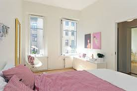 Small Apartment Bedroom Apartment Bedroom Decorating Ideas White Bed With Cute Window And
