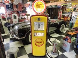 gilbarco gas pump. restored gilbarco gas-petrol pump shell themed gas 2