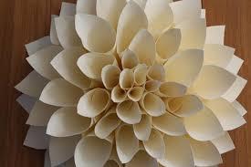 Dahlia Flower Making With Paper Make A Paper Dahlia Flower Diy Network Blog Made Remade