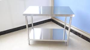 Hotel Kitchen Service Stainless Steel Solid Working Table Bench Kitchen Work Table Buy High Quality Solid Kitchen Work Tablestainless Steel Working