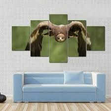 golden eagle aquila chrysaetos in flight canvas panel painting tiaracle on flight canvas wall art with golden eagle aquila chrysaetos in flight multi panel canvas wall art