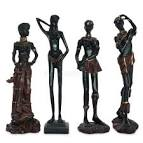 Oude afrikaanse beelden