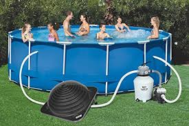 GAME 4721 SolarPRO Solar Pool Heater for Intex Bestway Above