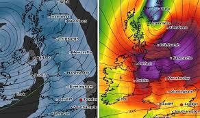 Atlantic Weather Charts Uk Weather Charts Atlantic Jet Stream To Plunge Britain