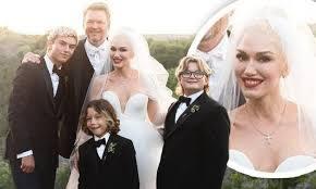 Gwen Stefani and new husband Blake ...