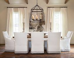 slipcovered dining chairs and cote and vine slip covered dining chairs slipcovered dining chairs and up your dining room with stylish slipcovers