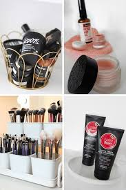 makeup organisation ideas bathroom storage makeup organising makeup cabinet how to