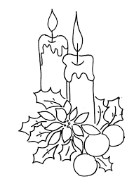 Small Picture Christmas Tree Candles Coloring Pages Christian Coloring Pages
