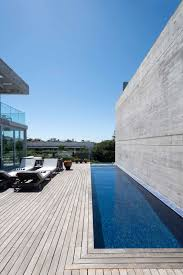 wood patio with pool. Outdoor, Side Yard, Infinity Pools, Tubs, Shower, Wood Patio, Porch Wood Patio With Pool T