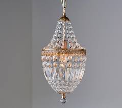 suri double insulated chrome crystal chandelier with small