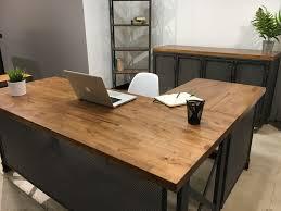 amazoncom furniture 62quot industrial wood. Gallery Of Coolest Unique Office Furniture Desks 29 About Remodel Brilliant Home Amazoncom 62quot Industrial Wood D