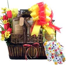 in the garden gift baskets for delivery